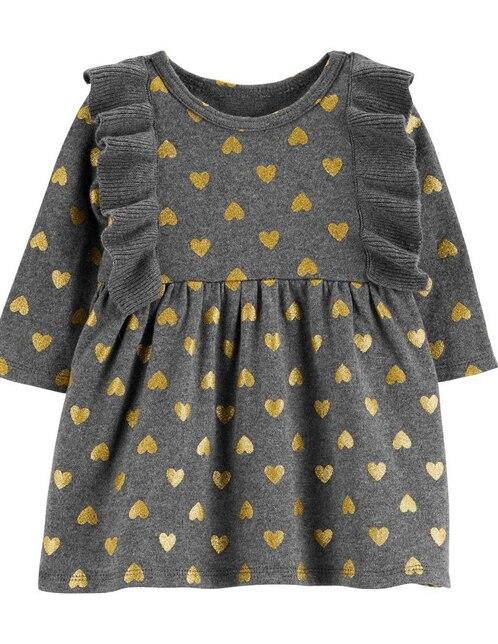 Vestido con diseño gráfico Carter s algodón para bebé 727429bdacd