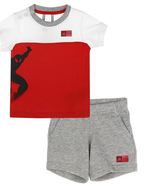 145e8451404b5 Conjunto deportivo Adidas algodón para niño