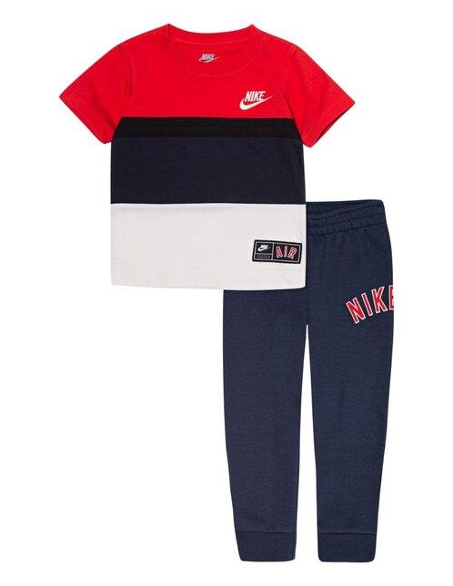 Conjunto liso Nike algodón para bebé 44770133466