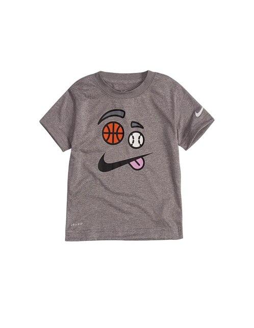 Playera jaspeada Nike algodón para niño cc881353cb9