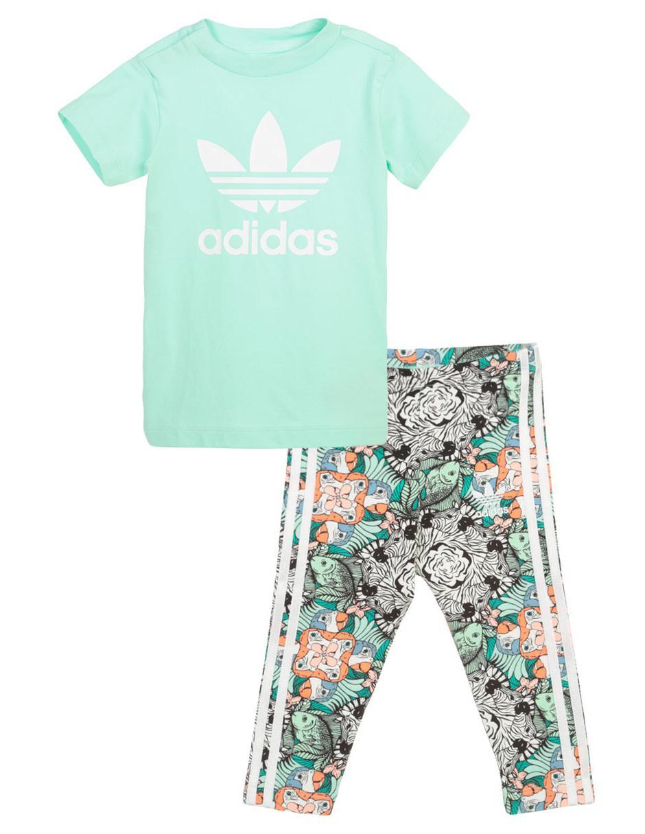 a345c4430 Conjunto deportivo Adidas algodón para niña | Liverpool es parte de MI vida