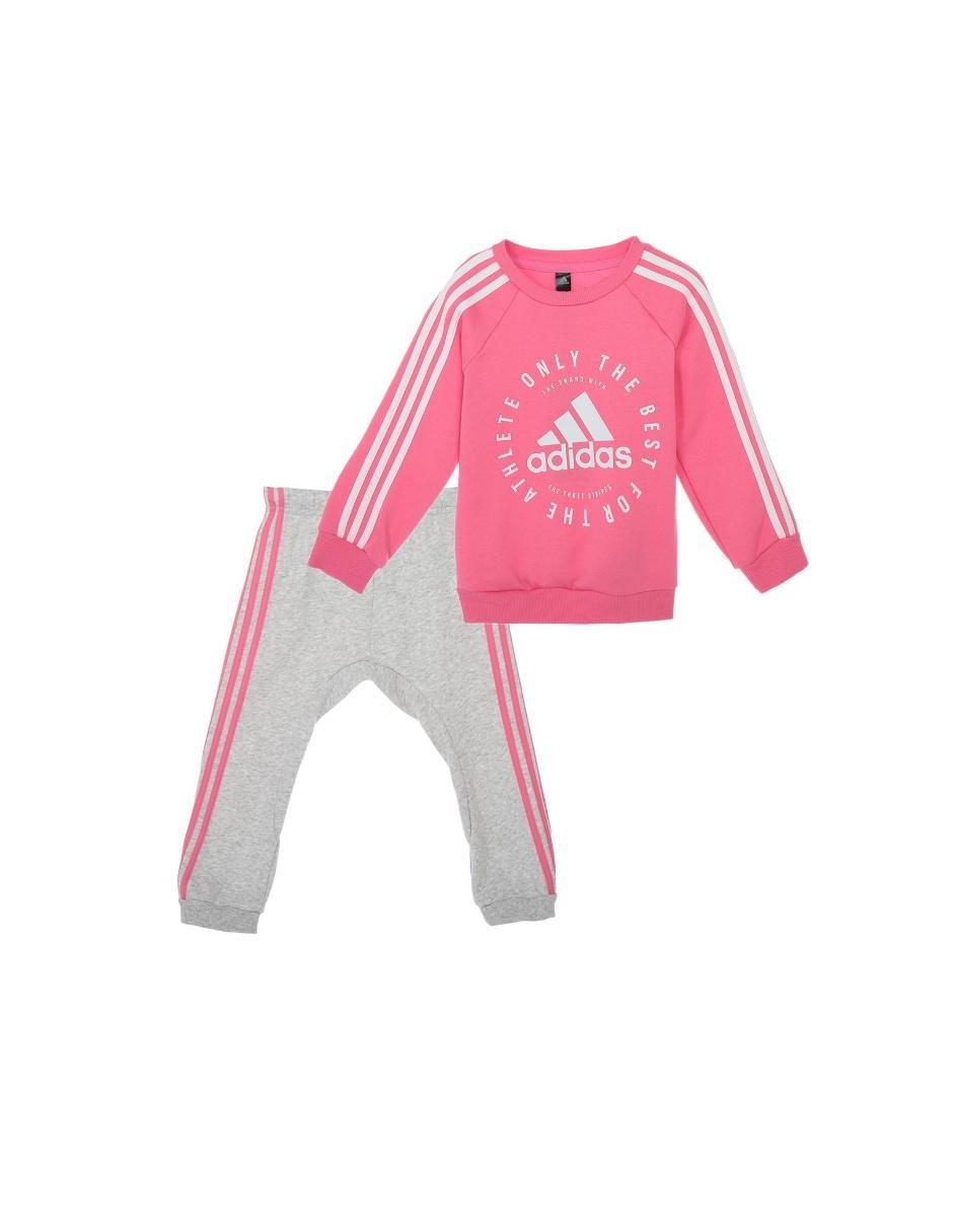 Conjunto deportivo Adidas algodón para niña