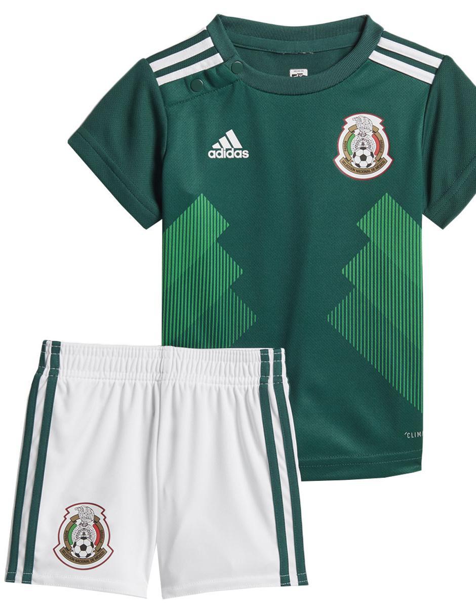 Conjunto deportivo Adidas Selección Mexicana para Bebé Precio Lista da397d8e5f140